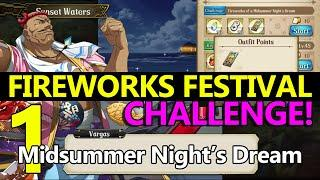 Langrisser M Fireworks Festival CHALLENGE #1: Fireworks of a Midsummer Night's Dream