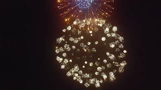 Milan 2019 fireworks