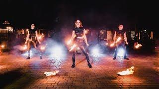 Фаер шоу в Ростове - Blaze show | GOF show