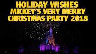 Holiday Wishes Fireworks 2018 | Walt Disney World Resort