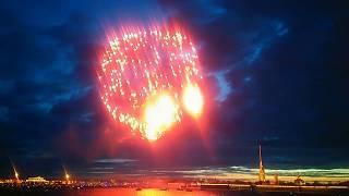 Салют на день победы Санкт-Петербург 9 мая 2019