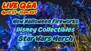 LIVE Q&A - New Halloween Fireworks Show