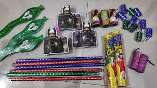 Testing different types of Diwali fireworks stash 2019/Diwali crackers testing/cracker testing ||CY
