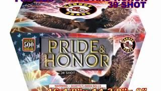 Pride and Honor 39 Shot Cannon Fireworks (Coming in 2019) | Red Apple Fireworks