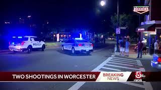 2 people shot after Worcester fireworks