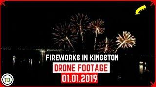 Fireworks on the Waterfront 2019, PT2 (Drone Footage)
