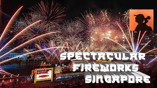 CNY 2020 SPECTACULAR FIREWORKS FULL VIDEO @ SINGAPORE