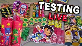 Firecracker Testing - Diwali Fireworks Stash Testing 2019