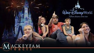 Close out your day in the best way possible with virtual fireworks! | Happily Ever After - REACTION!