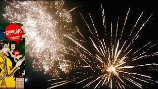 Samurai Canister Shells - Hardcore Pyro Fireworks