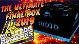OTELLO BOX - EVOLUTION FIREWORKS NIEUW 2019 2020