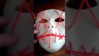 Полный обзор светодиодной маски (докуп римской свечи на новый 2019 год)
