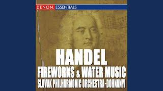 Music for the Royal Fireworks, HWV 351: I. Overture