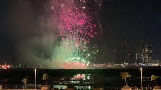 UAE 49th National Day Fireworks 2020