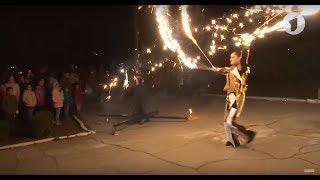 Огненное шоу и салют в Бендерах. Без комментариев