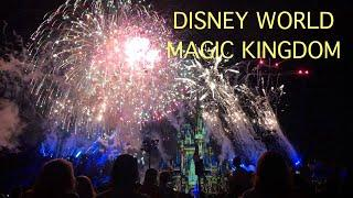 Disney World Magic Kingdom Fireworks