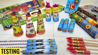 Testing new and different types of fireworks stash 2020/Crackers testing 2020/Crackers stash 2020