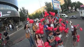 08/07/2019 - шарики Шария в Николаеве - от СитиЦентра до 3 слободки и обратно