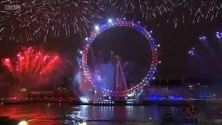 London's New Year's Eve Fireworks 2018 / 2019
