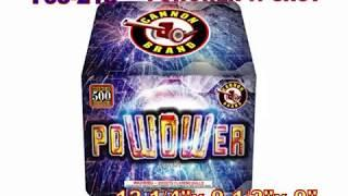 POWOWER 17 Shot Cannon Fireworks (Coming in 2019) | Red Apple Fireworks