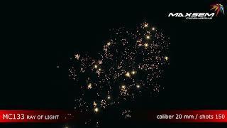 Maxsem Fireworks MC133 RAY OF LIGHT