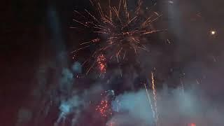 Sydney Royal Easter Show Fireworks 2019