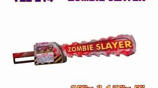 Zombie Slayer Cannon Fireworks (Coming in 2019) | Red Apple Fireworks