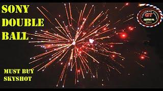 HUGGY MUGGY from Sony fireworks|Double ball skyshot from sony fireworks|Diwali Stash 2020|#shorts