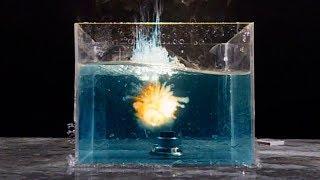 Что Если Взорвать Петарду Под Водой? В Slow Mo