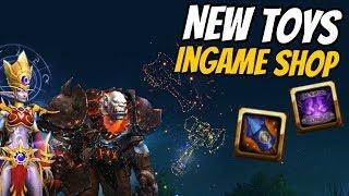 New Toys Transmorpher Beacon & Lion's Pride and Horde's Might Fireworks | World of Warcraft