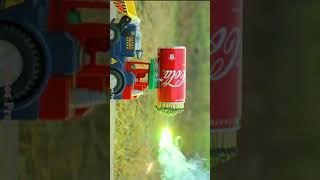 Rocket Car vs Fireworks