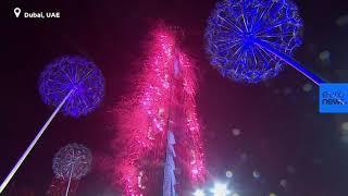 Новогодние фейерверки 2019