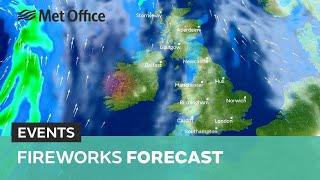 Fireworks forecast – Will it stay dry for fireworks this weekend?