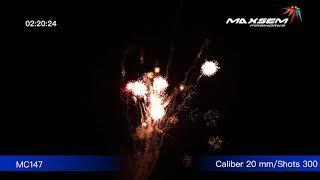 МС147 Армагедон Armagedon Батарея салютов 300 залпов, калибром 0,8 дюйма