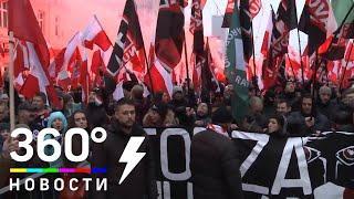 Фаеры, петарды и сплошные кордоны полиции. В Варшаве отметили День назависимости