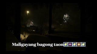 FIREWORKS SA BAGONG TAON at Putok-putok ng isdang Bangus