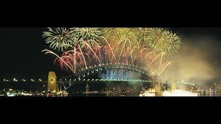 Sydney Australia  happy New Year Day Fireworks 2020