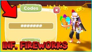 EXCLUSIVE CODE & INFINITE FIREWORKS GAMEPASS | Firework Simulator