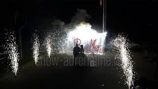 Пиротехнические фонтаны 3-х метровые Show Adrenaline