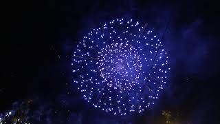 Новогоднее фейерверк-шоу в Праге 1.01.2019