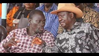 FIREWORKS IN LODWAR AS GOVERNOR NANOK AND RAILA'S TEAM ENGAGE IN HEATED WORDS OVER BBI AT CHURCH