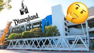 Disneyland New Parking Structure Updates | Inside Out Ride Updates | Fireworks from Galaxy's Edge