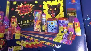 Black Cat fireworks brochure 1998