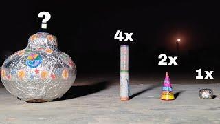 BIGGEST DIWALI ANAR || world's biggest fireworks ||