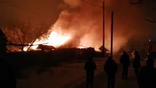 Ночной пожар на Лермонтова