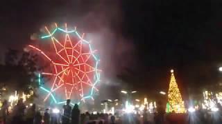 GAPAN CITY PINAS BONGGANG FIREWORKS,GRAND LIGHTING OF GIANT CHRISTMAS TREE, FERRIS WHEEL