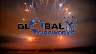 Burning Airfield 2019   Global Fireworks F3 F4 Show   PyroExtremGermany