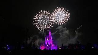 Disney's Magic Kingdom DVC Moonlight Magic Fireworks FULL SHOW