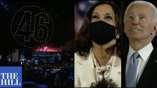 NOW: President-elect Biden, Vice President-elect Kamala Harris enjoy 2020 election victory fireworks