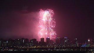 2019 롯데월드타워 불꽃축제 (LOTTE WORLD TOWER FIREWORKS FESTIVAL 2019) 직캠 humoresque 4K